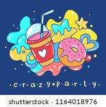 vector bright illustration of... | Shutterstock .eps vector #1164018976