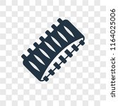 ribs vector icon isolated on... | Shutterstock .eps vector #1164025006
