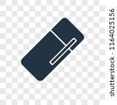 fridge vector icon isolated on... | Shutterstock .eps vector #1164025156