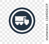 heavy vehicle vector icon...   Shutterstock .eps vector #1164026119