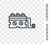generator vector icon isolated... | Shutterstock .eps vector #1164030160