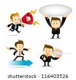 elegant people series  ... | Shutterstock .eps vector #116403526