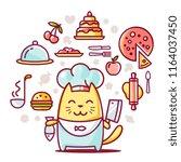 vector creative illustration of ... | Shutterstock .eps vector #1164037450