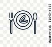 diet vector icon isolated on...   Shutterstock .eps vector #1164046966