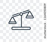 feasibility vector icon... | Shutterstock .eps vector #1164050809
