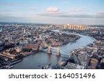 london city skyline | Shutterstock . vector #1164051496