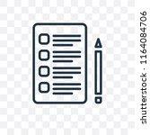 checklist vector icon isolated...
