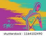 vector colorful paper cut... | Shutterstock .eps vector #1164102490