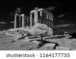 temple of poseidon  attica ... | Shutterstock . vector #1164177733