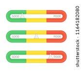 credit score indicators or... | Shutterstock .eps vector #1164182080