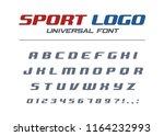 sport logo universal italic... | Shutterstock .eps vector #1164232993