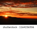 colorful dramatic sky with... | Shutterstock . vector #1164236506