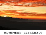 colorful dramatic sky with... | Shutterstock . vector #1164236509
