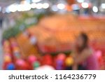blur image of fruits and... | Shutterstock . vector #1164236779