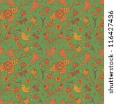 vintage seamless pattern with...   Shutterstock .eps vector #116427436