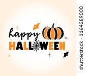 a festive poster for the... | Shutterstock .eps vector #1164289000