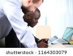 business professionals. group...   Shutterstock . vector #1164303079