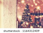 christmas. new year and... | Shutterstock . vector #1164312409
