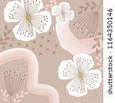 fashion scarf pattern | Shutterstock .eps vector #1164350146