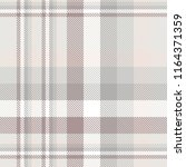 plaid pattern in gray  pale... | Shutterstock .eps vector #1164371359
