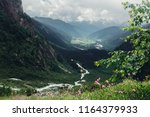 canyon in the mountains of... | Shutterstock . vector #1164379933