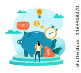 business and finance services ... | Shutterstock .eps vector #1164408370