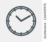 clock icon vector | Shutterstock .eps vector #1164429970