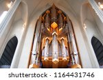 interiors and organ of... | Shutterstock . vector #1164431746