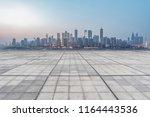the skyline of chongqing's... | Shutterstock . vector #1164443536