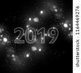 vector eps 10 2019 silver... | Shutterstock .eps vector #1164469276