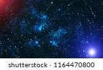 deep space. high definition... | Shutterstock . vector #1164470800