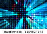 lights background. abstract... | Shutterstock . vector #1164524143