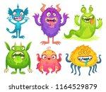 Cartoon Monster Mascot....