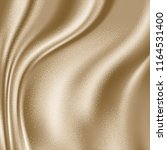 luxury beige satin smooth... | Shutterstock .eps vector #1164531400