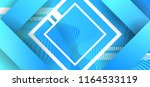 abstract blue technological... | Shutterstock .eps vector #1164533119