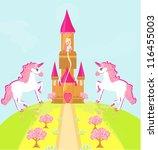 illustration of princess  in... | Shutterstock .eps vector #116455003