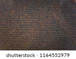 london   august 06  2018 ... | Shutterstock . vector #1164552979