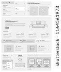 flat ui website design elements