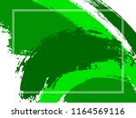 horizontal border with paint... | Shutterstock .eps vector #1164569116