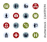 business   finance web icons | Shutterstock .eps vector #116459194