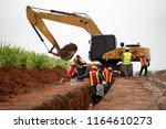 Group Of Worker And...