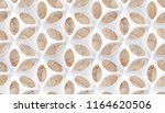 matte white body shape with... | Shutterstock . vector #1164620506