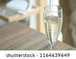 home party champagne glass | Shutterstock . vector #1164639649