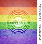 disappointing on mosaic...   Shutterstock .eps vector #1164648169