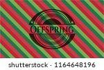 offspring christmas emblem... | Shutterstock .eps vector #1164648196