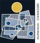 abstract grunge vector... | Shutterstock .eps vector #1164662680