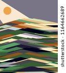 abstract vector background.... | Shutterstock .eps vector #1164662689