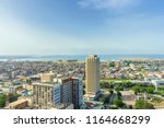 daytime aerial view of lagos... | Shutterstock . vector #1164668299