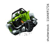off road atv buggy  rides...   Shutterstock .eps vector #1164691726