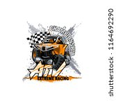 off road atv buggy logo ... | Shutterstock .eps vector #1164692290